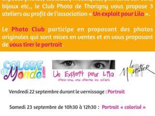 Exposition Colore le Monde et tirages de portraits