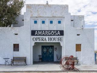 L'hôtel et l'opéra Amargosa