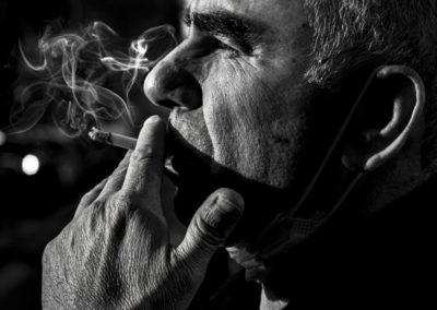 Cigarette d'automne, Théo