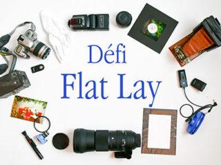 Défi «Flat Lay».
