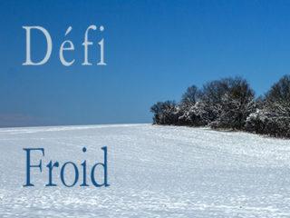 Défi «Froid».